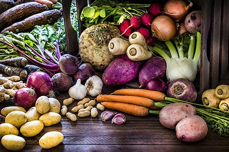 ăn củ quả giúp bổ sung khoáng chất hỗ trợ tăng chiều cao cho tuổi 13-18