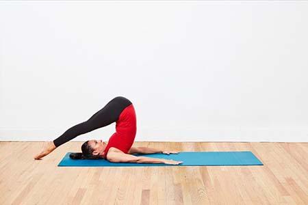 bài tập tăng chiều cao cuộn ngườ pilates