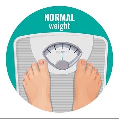 cân nặng cân đối