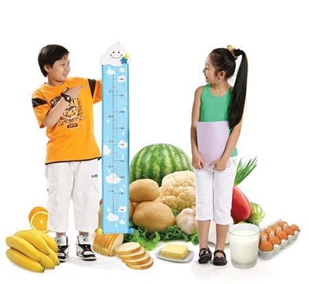 tăng chiều cao cho trẻ để đạt bmi chuẩn