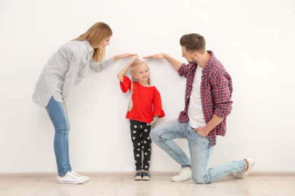 chiều cao của con phụ thuộc vào bố hay mẹ