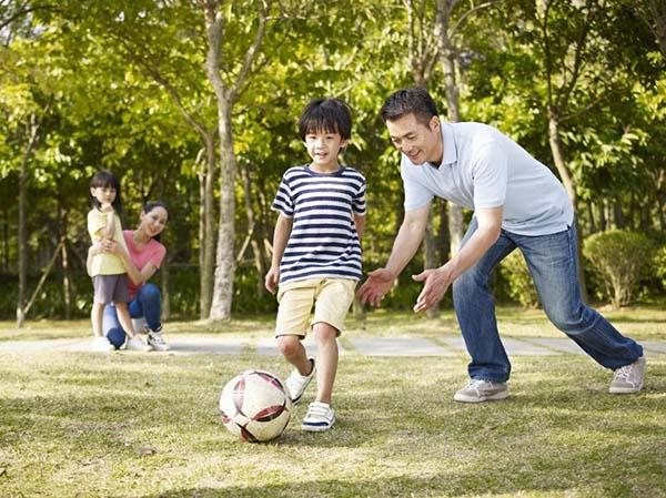 tăng cường khả năng vận động của trẻ