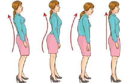 duy trùy tư thế đúng giúp tăng chiều cao ở tuổi 24-27