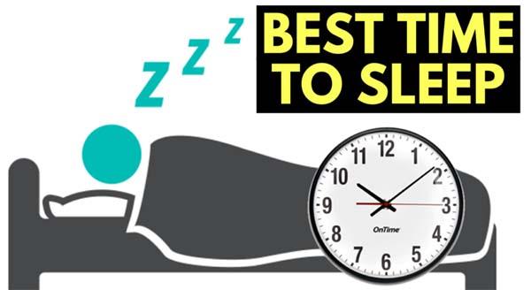 thời gian tốt nhất để đi ngủ