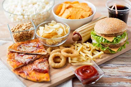 thức ăn nên tránh ở tuổi 23