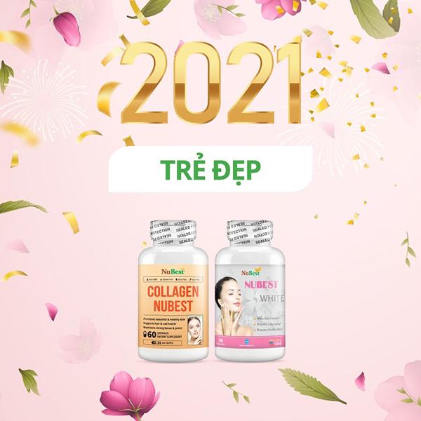 Bộ đôi sản phẩm chống lão hóa, làm đẹp và sáng da do TVBUY phân phối