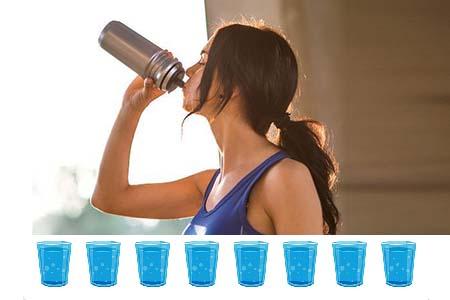 cung cấp đủ nước cho trẻ 11 tuổi