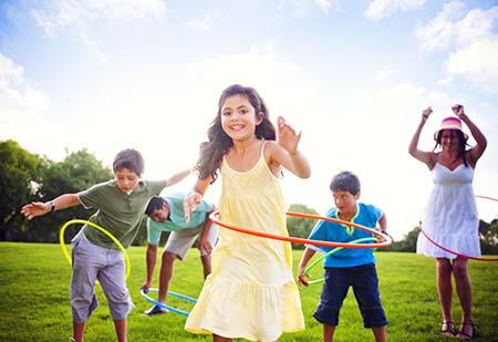 vận động tăng chiều cao cho trẻ 10 tuổi