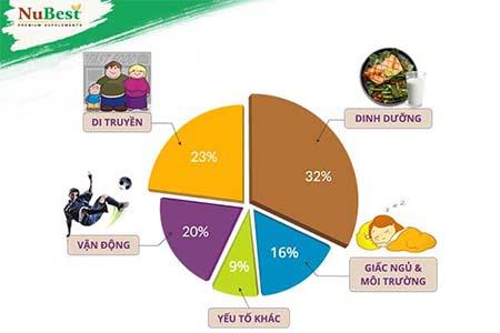 yếu tố ảnh hưởng đến tăng chiều cao trong 1 tuần 1 tháng hay 2 tháng